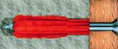 Дюбель распорный тип Т (трехлепестковый)