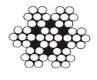 Трос нержавеющий средней жесткости А4 плетение 7х7