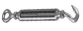 Талреп открытый Крюк-Кольцо нержавеющий А4 ART 8246